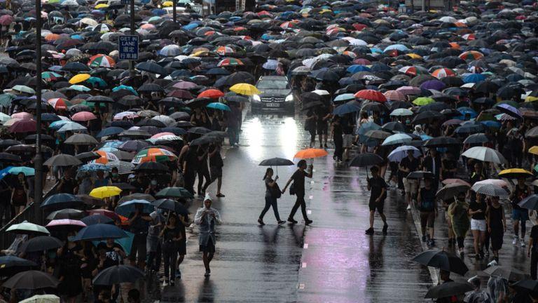 Hong Kong protests and the Watermark family